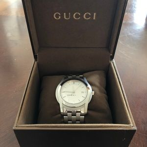 Authentic Gucci Men's watch